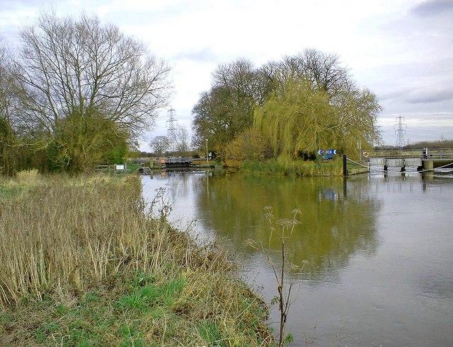 Grafton Lock & weir