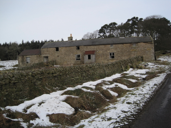 Farm building near Hareshaw House