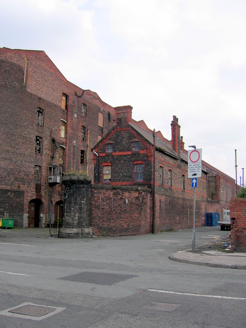 Saltney Street and Stanley Warehouse