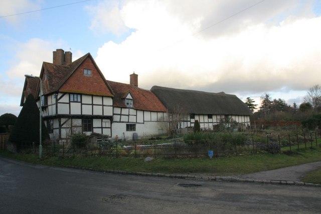 Farmhouse off the road