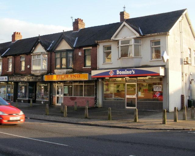 Chepstow Road shops between Hawarden Road and Blenheim Road (2)
