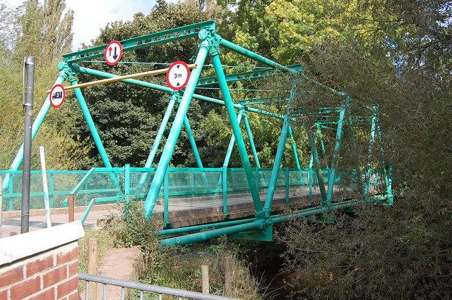 Inglis bridge over the river Monnow