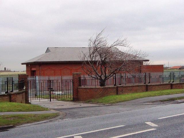 Reservoir building in Ormesby