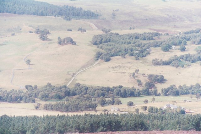 Auchnagallin seen from Tom Mor
