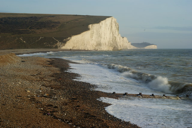 Wave Motion at Cuckmere Haven (1)