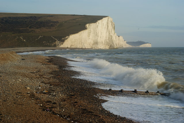 Wave Motion at Cuckmere Haven (2)
