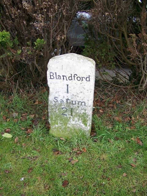 Milestone, Blandford Forum