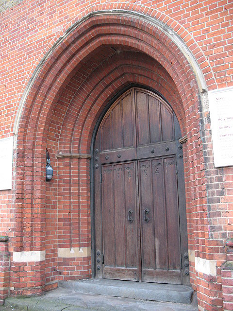 The Ascension, Lavender Hill: main entrance