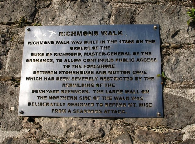 Notice, Richmond Walk