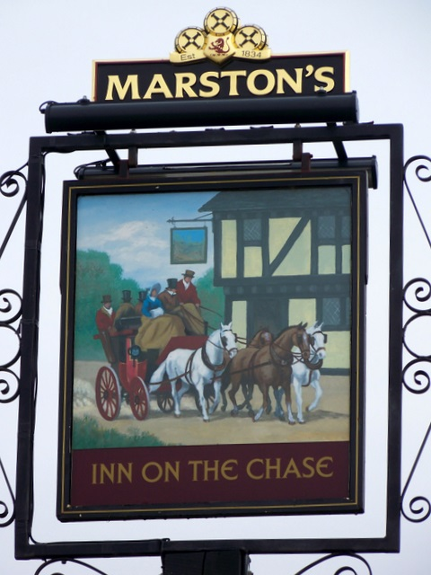 Sign for Inn on the Chase