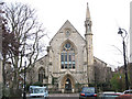 TQ3076 : Former St Barnabas church, Guildford Road  by Stephen Craven