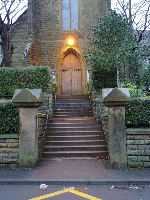Our Immaculate Mother & St Anselm RC Church, Whitworth, Doorway