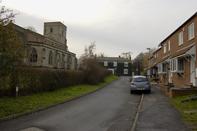 North of the church, Keyingham