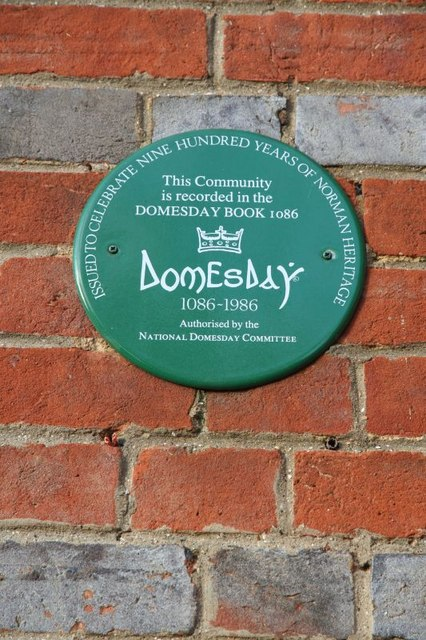 Domesday plaque