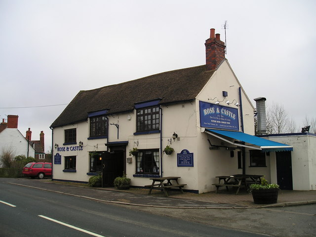 The Rose and Castle Pub, Ansty