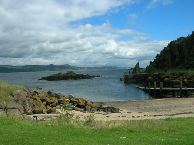 Beach and Landing Stage, Inchcolm