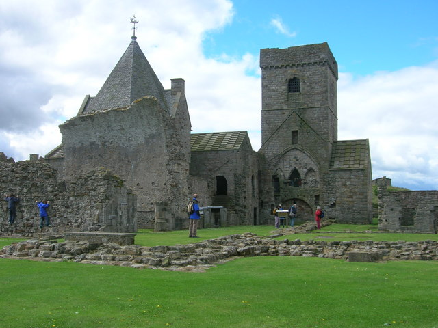 Inchcolm Abbey.