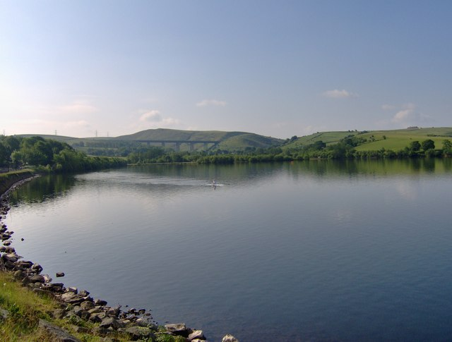 The north shore of Hollingworth Lake