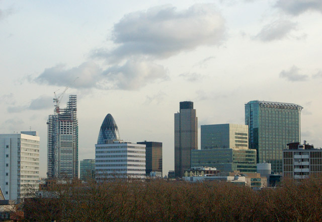 Night and day: City of London skyline (1)