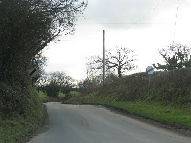 Road to George Nympton from South Molton