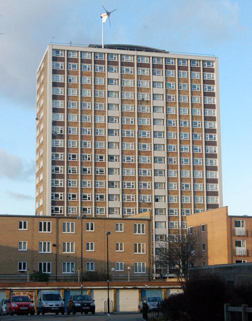 Kestrel House towerblock, London EC1