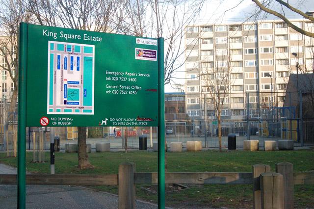 Kings Square Estate, London EC1