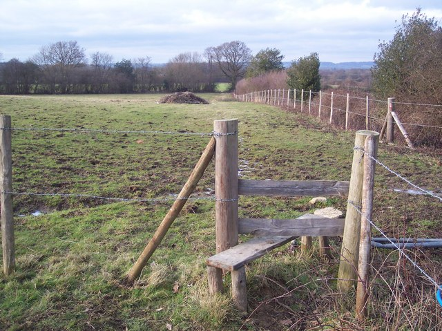 Stile near Upper Haysden Farm