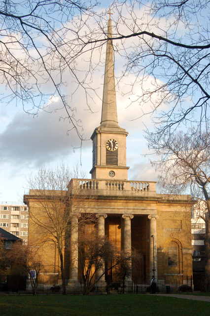 Church of St Clements, Finsbury