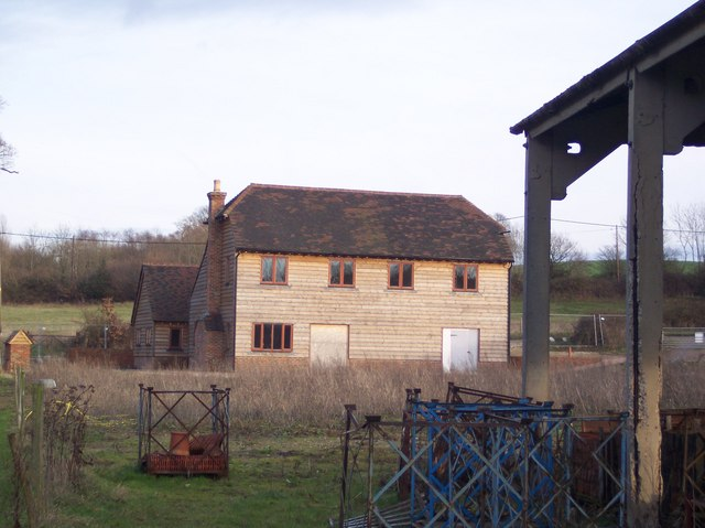 New Farm Buildings in Upper Haysden Farm