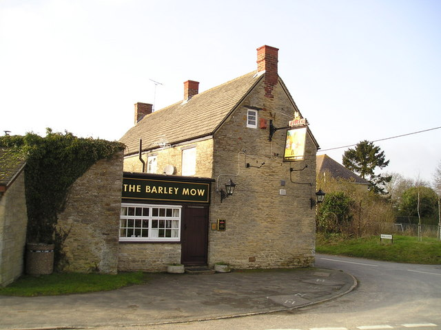 The Barley Mow Pub, Upper Heyford