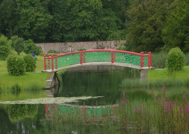 Bridge, Blair Castle Gardens