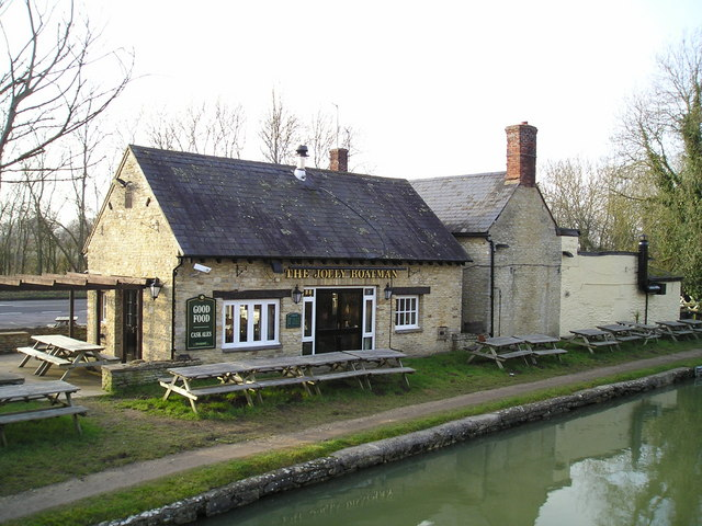 The Jolly Boatman Pub, Thrupp