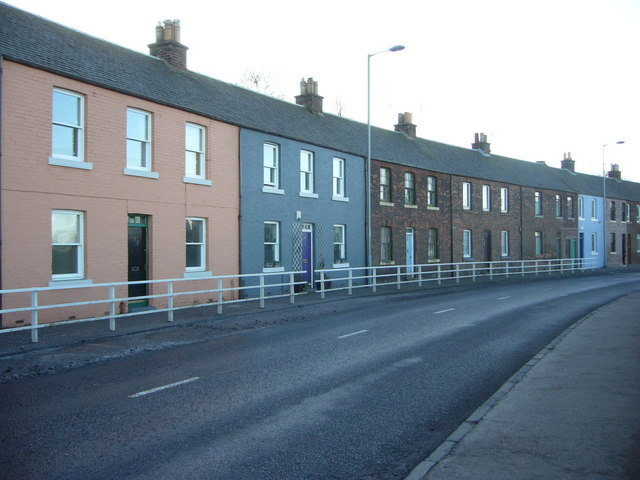 Houses in Lower Granton Road