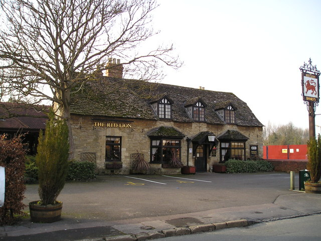 The Red Lion Pub, Wolvercote