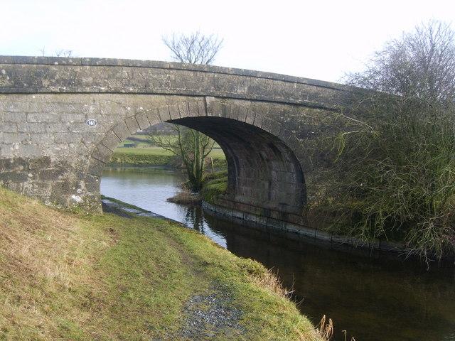 Bridge 161, Lancaster Canal