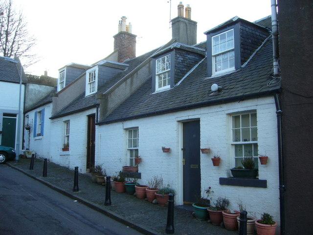 Wardie Square cottages