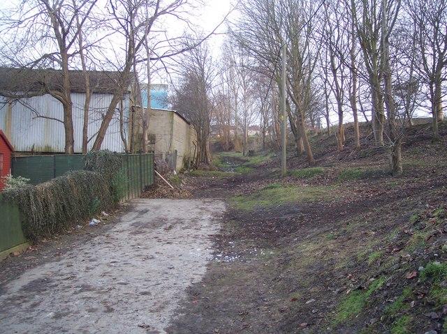 Footpath to Apple Tree Lane
