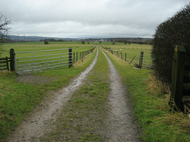 Track leading from Tottleworth