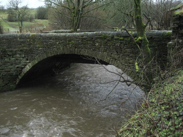 Bridge over Hyndburn Brook