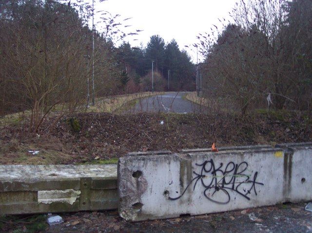 Knight's Park - disused road