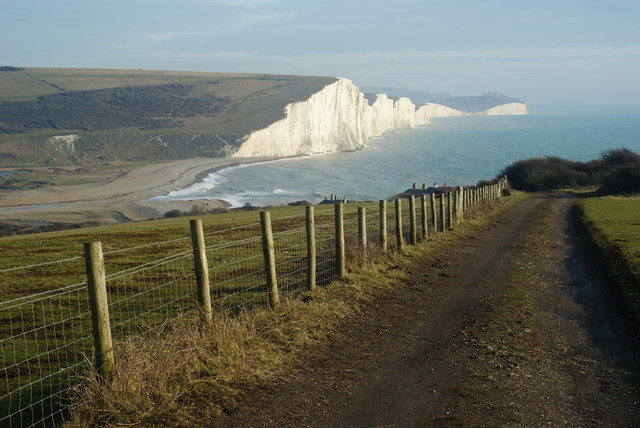 Track to Cuckmere Haven