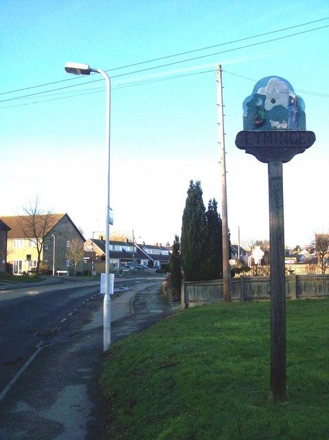 Lyminge Village Sign