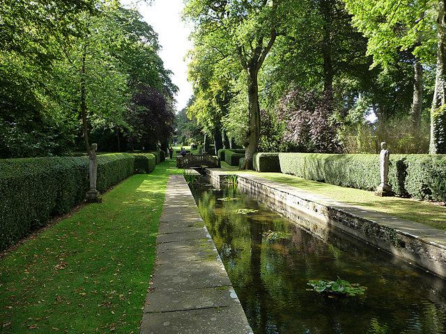 Buscot Park, water garden