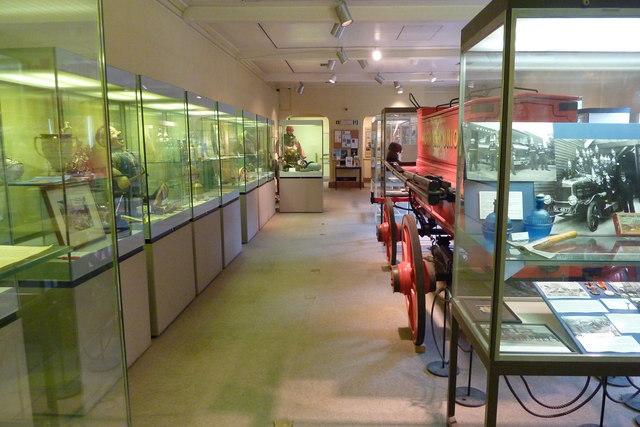 Inside Whitstable Museum
