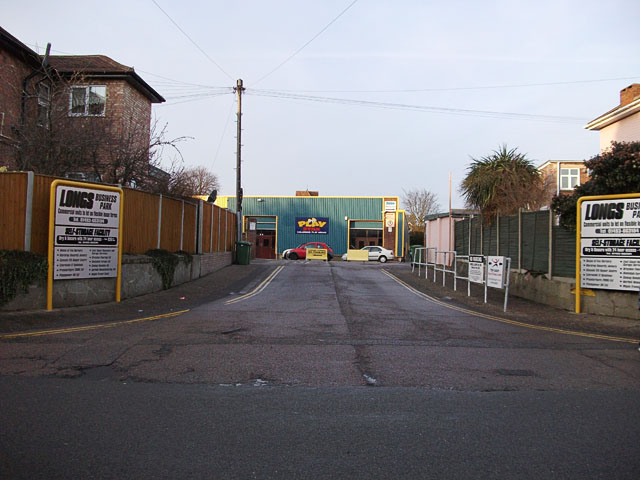 Entrance to Long's Business Park, Gorleston