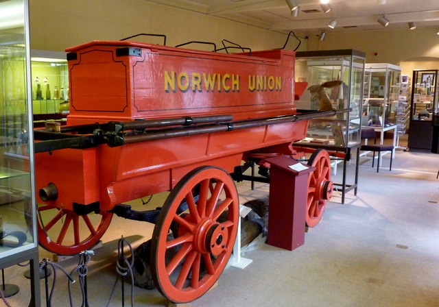 Whitstable's first fire engine.