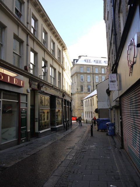 Pink Lane from Clayton Street West