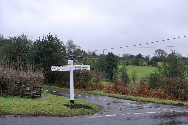 Signpost by the Coach and Horses