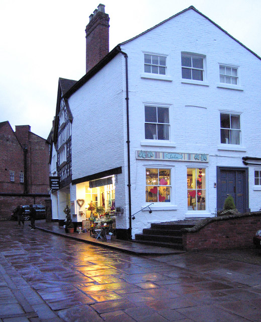 Lulu's flower shop, Shrewsbury