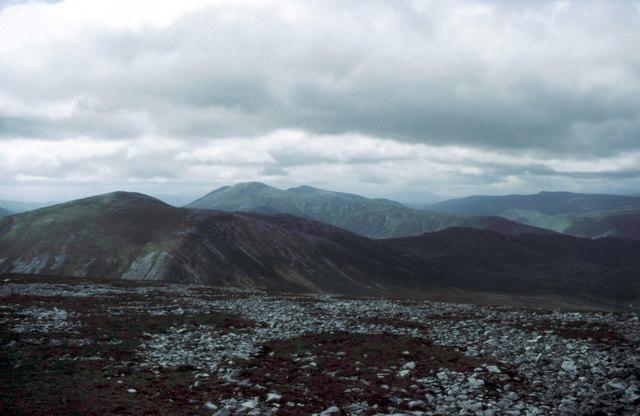 Summit of Beinn Iutharn Mhòr